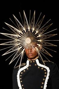 "lotrfashion: ""Headdress for Arien - Phillip Treacy """