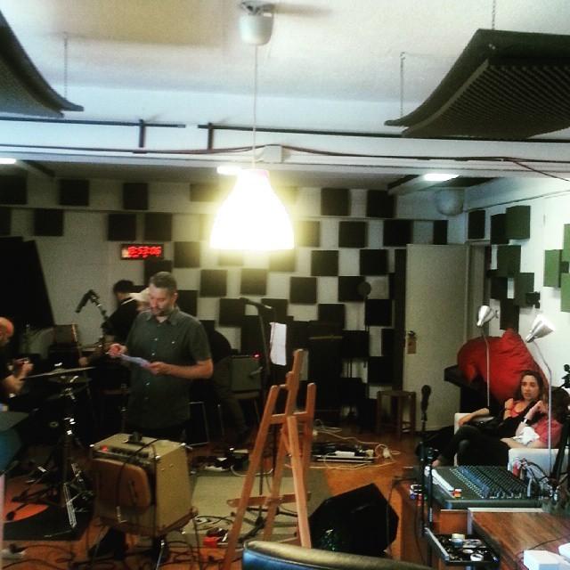 Blaze & the Stars, soundcheck // #thecompanysound // #Lisboa // http://ift.tt/1cO7ct8
