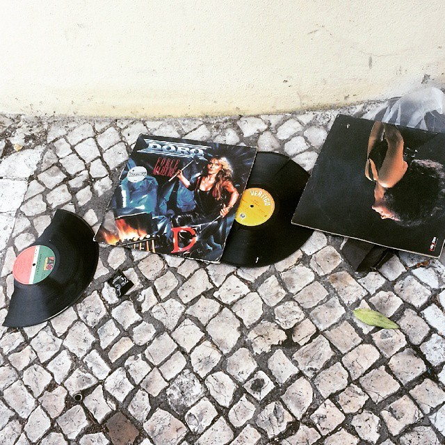 Remains of the day. #Lisboa // #vinylarchives // http://ift.tt/1J2JPI5