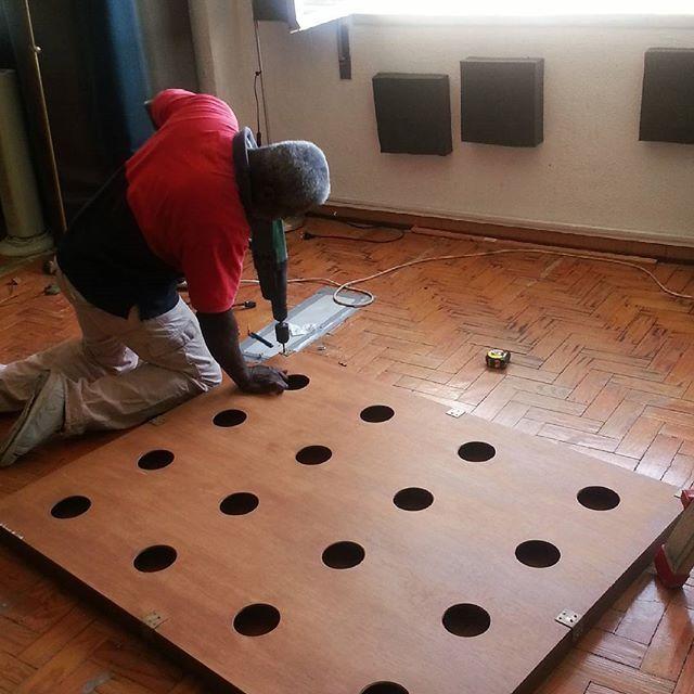 Soundproofing #thecompanysound // #Lisboa // http://ift.tt/1S2aUxj