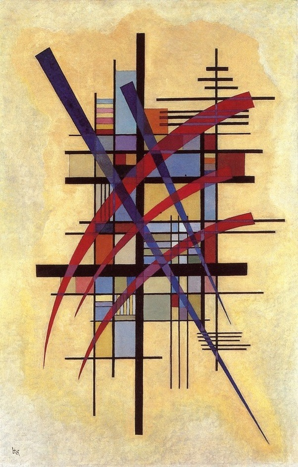 """lonequixote: """" Sign with Accompaniment by Wassily Kandinsky """""""