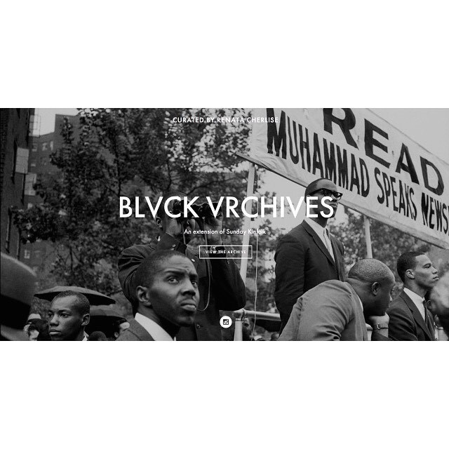 Many of these photographs are featured on the Blvck Vrchives visual narrative: Nation of Islam. [link in Bio] #blvckvrchives by blvckvrchives http://ift.tt/1JHcwek