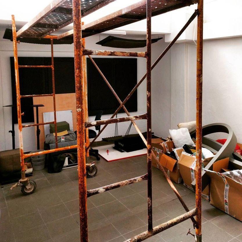 Rebuilding #thecompanysound http://ift.tt/1MkYqPj