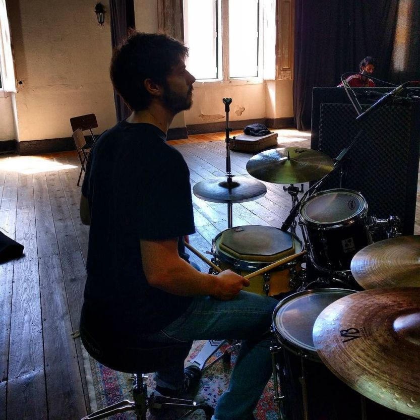 Guilherme Parreira on the drums / #GUME no Casino / #thecompanysound / http://ift.tt/1r8EQRS