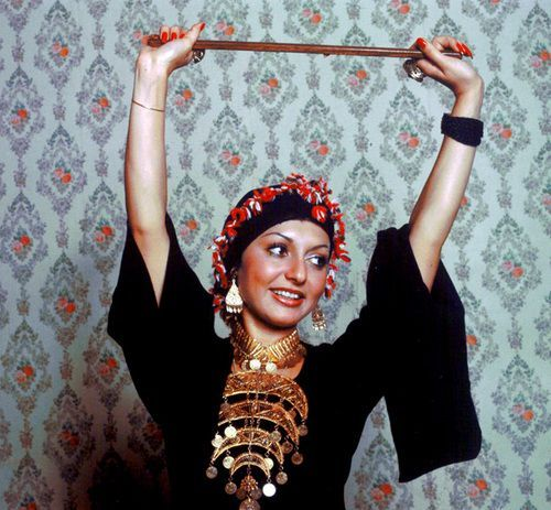 "lindazahra: "" The iranian diva Googoosh in the 70′s Instagram/lindazaynoun """