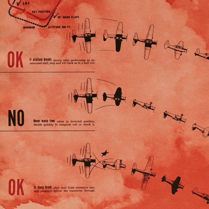 "furtho: ""Ladislav Sutnar's How To Fly, 1945 (via here) """
