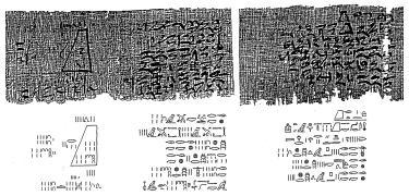 Moscow Mathematical Papyrus - Wikipedia The Moscow Mathematical Papyrus is an ancient Egyptian mathematical papyrus, also called the Golenishchev Mathematical Papyrus, after its first owner outside of Egypt, Egyptologist Vladimir Golenishchev....