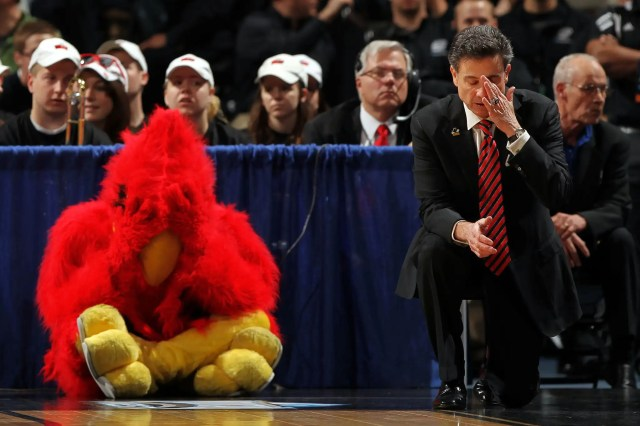 Rick Pitino Is Suggesting The College Hoops Season Doesn't Start Until January And They Only Play Conference Games
