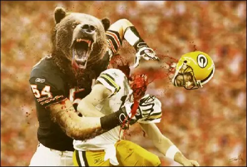Image result for bears and packers