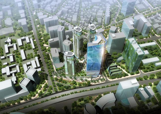 Phối cảnh chung cư Sungroup Constrexim Complex Cầu Giấy
