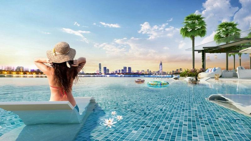 Sky Pool Vinhomes Skylake Phạm Hùng