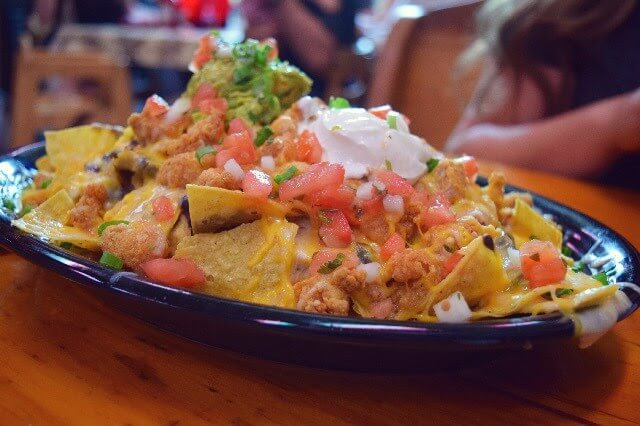 crawfish nachos from lucy's