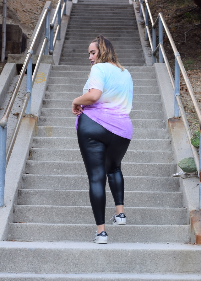 forever 21 plus size leather leggings