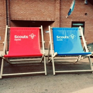 Norfolk Scouts Giant Deckchair