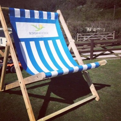 Bovisand Lodge Giant Deckchair