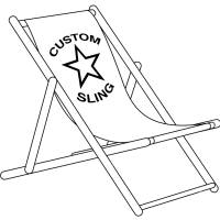 Giant Deckchair and Branded Sling