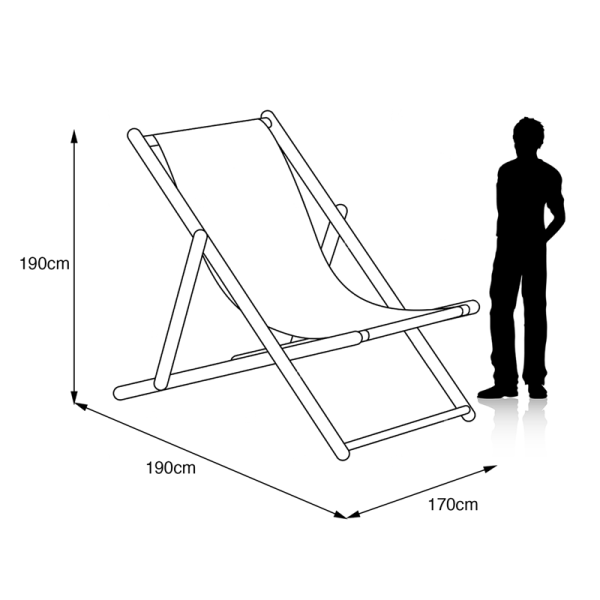 Giant Deckchair Dimensions
