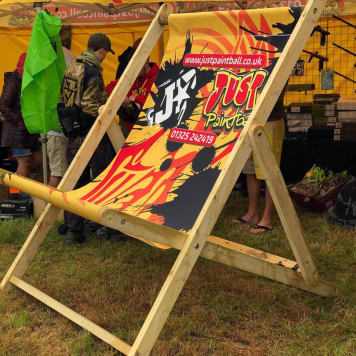Just Paintballing Giant Deckchair