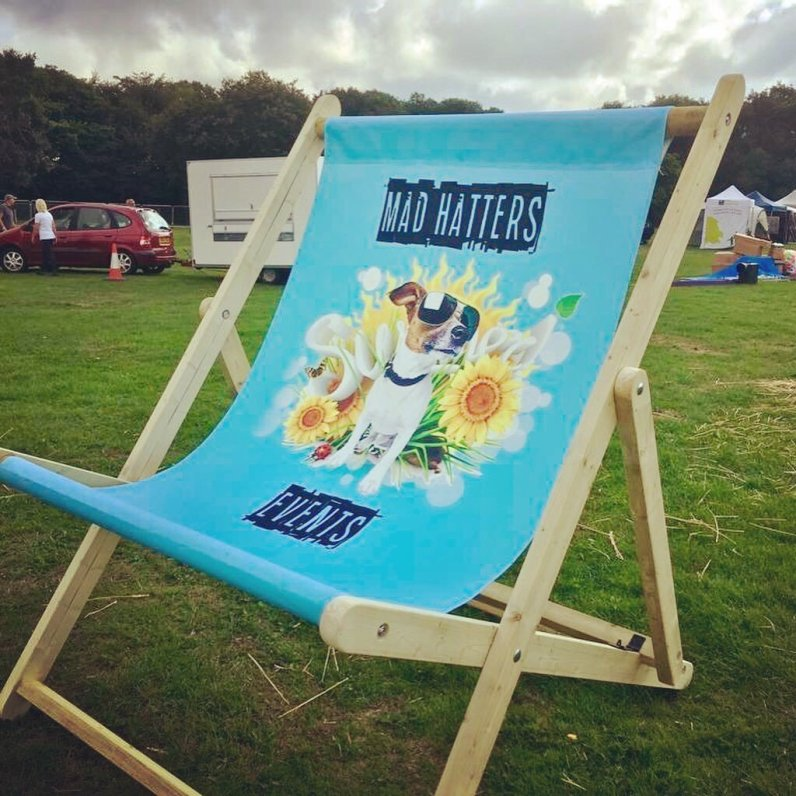 Mad Hatters Giant Deckchair