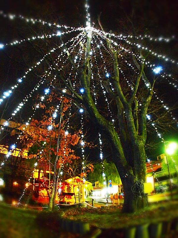 戸倉上山田温泉クリスマスイルミネーション