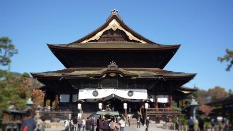 長野市善光寺初詣二年詣り