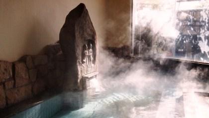 中央ホテル掛け流し温泉