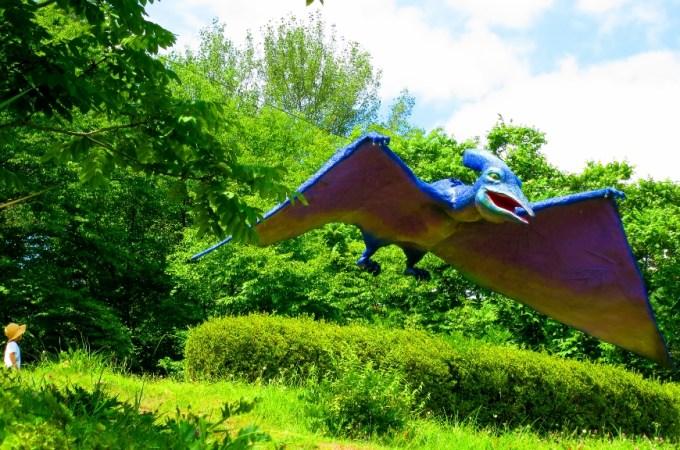 茶臼山恐竜公園自然植物園茶臼山動物園