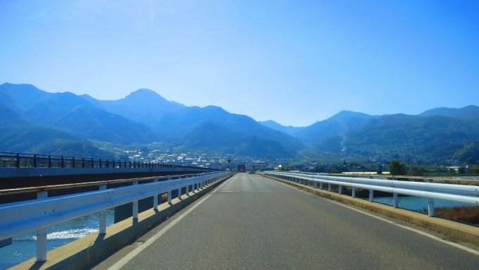 千曲市さらしな冠着橋開通