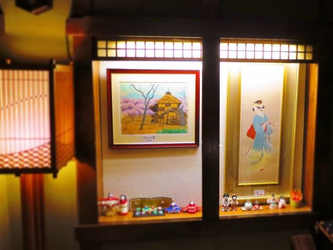 徳力富吉郎版画戸倉上山田温泉中央ホテル