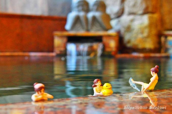 戸倉上山田温泉中央ホテル女湯温泉浴場