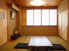 市松模様の和室