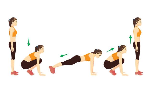 Bài tập thể dục cadio giảm cân tại nhà hiệu quả