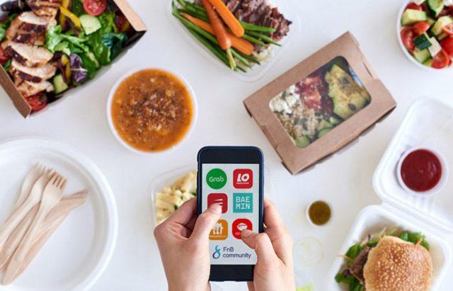 Order thực đơn Keto qua các app giao hàng