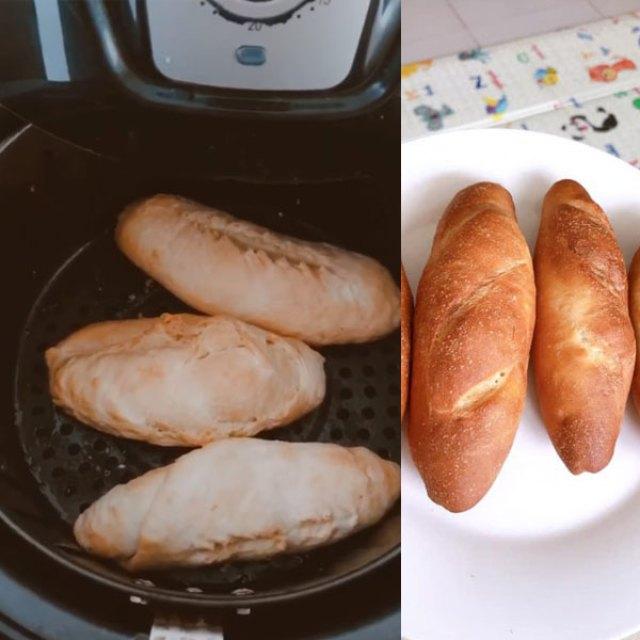 Cách làm bánh mì bằng nồi chiên không dầu