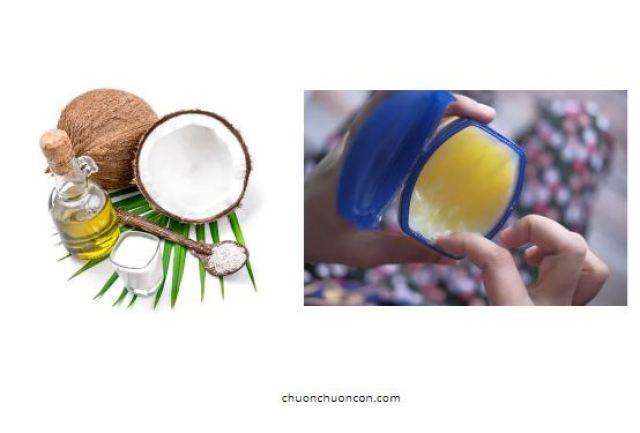 Làm mi dài bằng dầu dừa