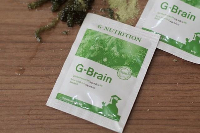 Cốm trí não G-Brain cho trẻ mấy tuổi