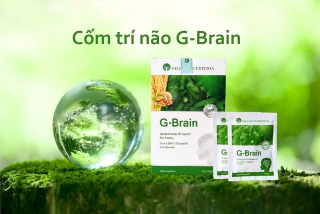 Cốm trí não G Brain công dụng