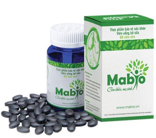 Viên uống lợi sữa Mabio công dụng
