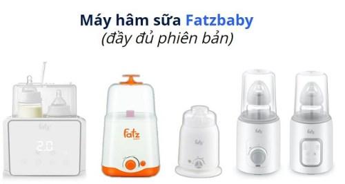 Các loại máy hâm sữa Fatz