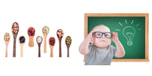 Thực phẩm giúp trẻ thông minh vượt trội