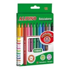 pack de 12 rotuladores alpino
