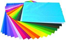 papel de seda surtido variado de colores