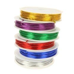 juego de 6 rollos de alambre para manualidades