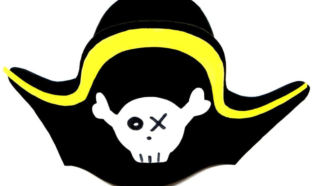 Sombrero pirata: ¿Cómo hacer un sombrero pirata con goma eva?