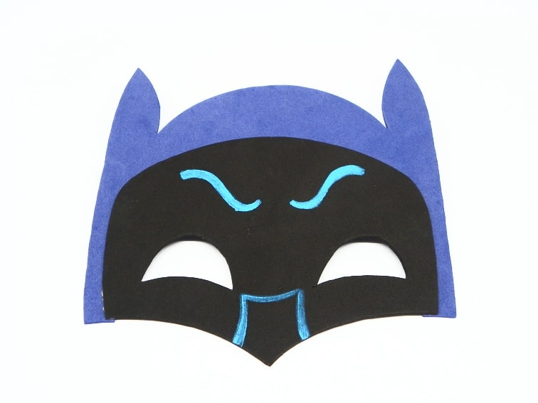 mascara de batman