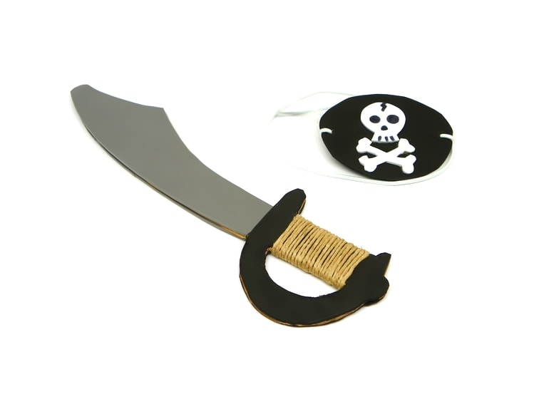 ¿Cómo hacer un sombrero pirata para el disfraz con goma eva?