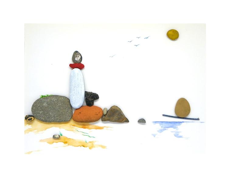 cuadro piedras