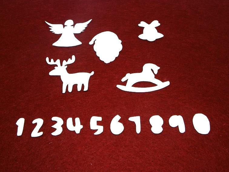plantillas de papel para hacer adornos de navidad