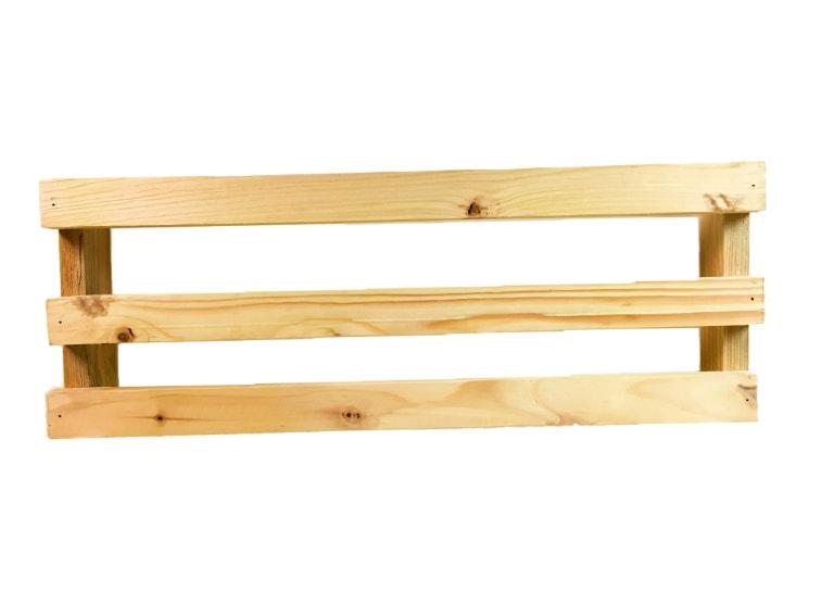 soporte de madera de un pale para monitor