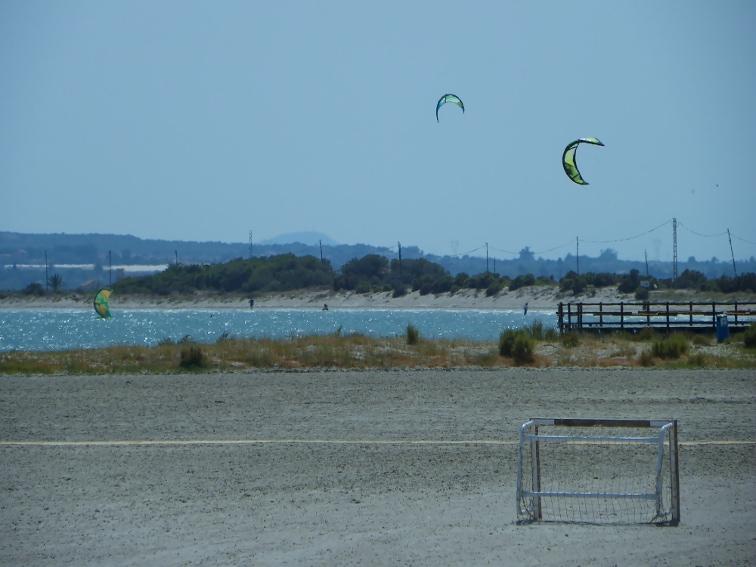 playa del tamarit y playa de la gola santa pola